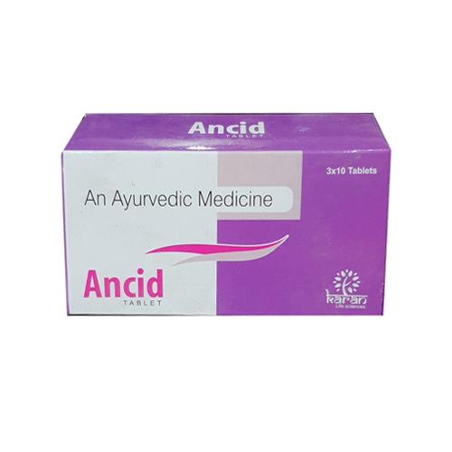 Ancid Ayurvedic片剂
