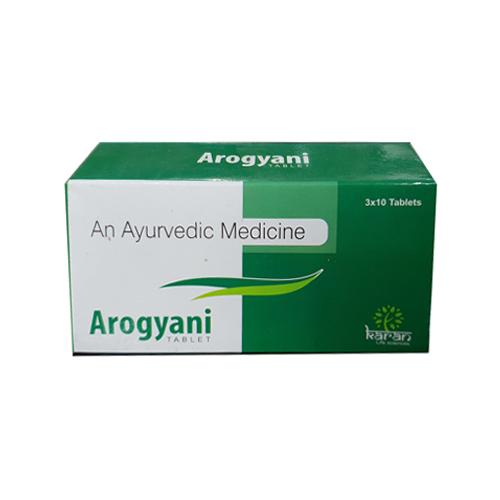 Arogyani Ayurvedic片剂