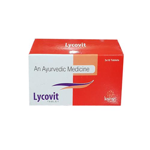 Lycovit Ayurvedic Tablet