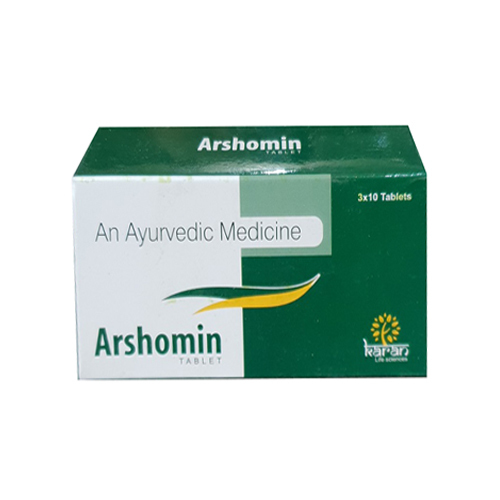 Arshomin Ayurvedic片剂