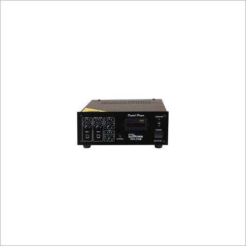 Hitune Bass 30 Watt Digital Player PA Mixing Amplifier HDPR-370