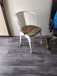 Wooden Tolix Chair