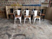 Wooden Tolix Chair