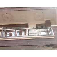 Residential Steel Glass Railing