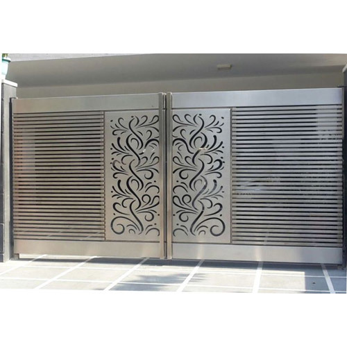 Main Entrance Stainless Steel Gate
