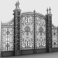 Designer Main Entrance Iron Gate