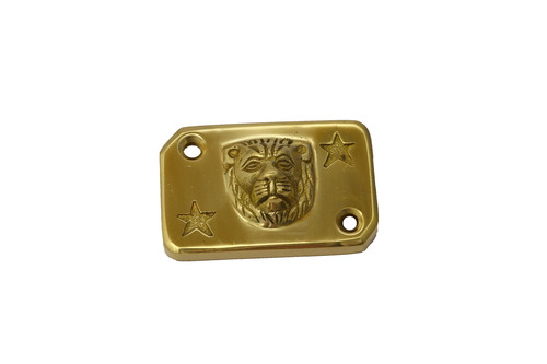 Brass Lion Design Disk Cap For Royal Enfield