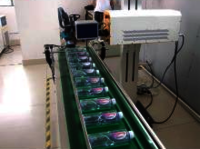 Fly Laser Marking Machine for Caps