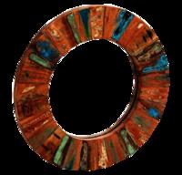 Reclaimed Round Mirror
