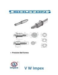 Shuton Precision Ball Screws