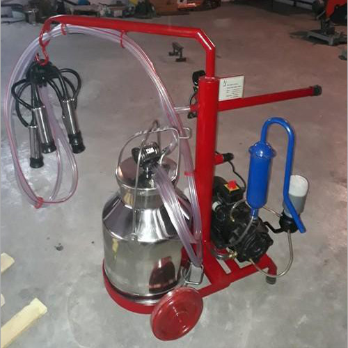 Single Cluster Milking Machine
