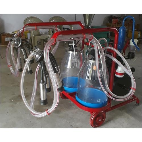 MMU Double Bucket Transparent Milking Machine