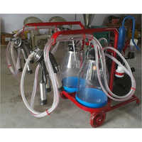 MMU Double Bucket Transparent Milking Machine