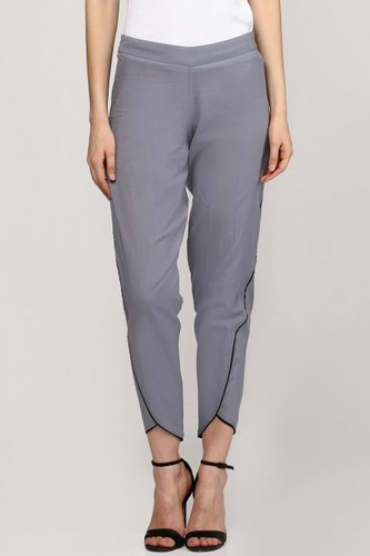 Grey Dhoti Pants