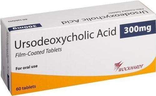 Ursodeoxycholic Acid 300mg Tablet