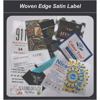 Woven Edge Satin Labels