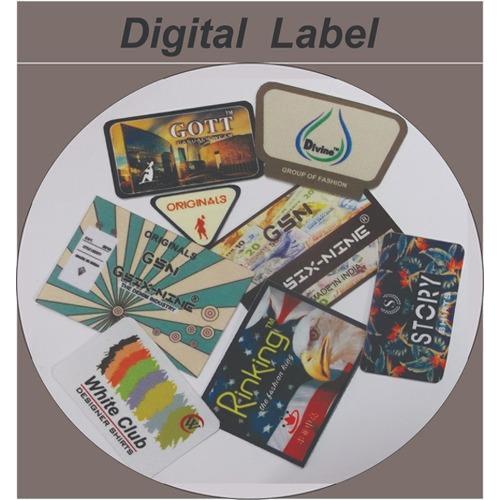 Digital Printed Label