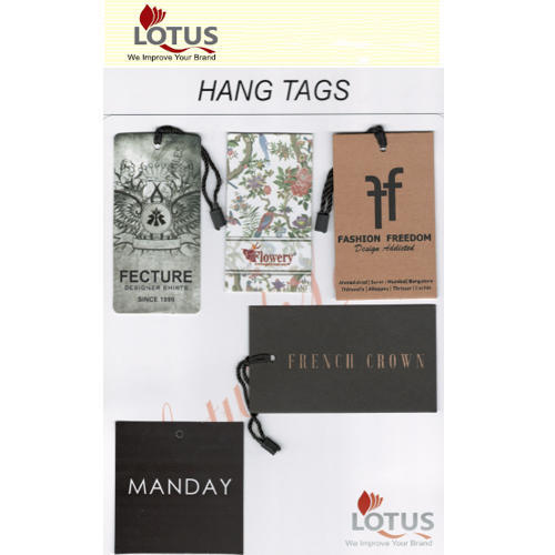 Printed Hang Tags