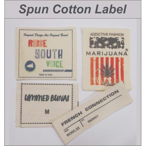 Spun Cotton Labels