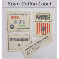 Spun Cotton Labels