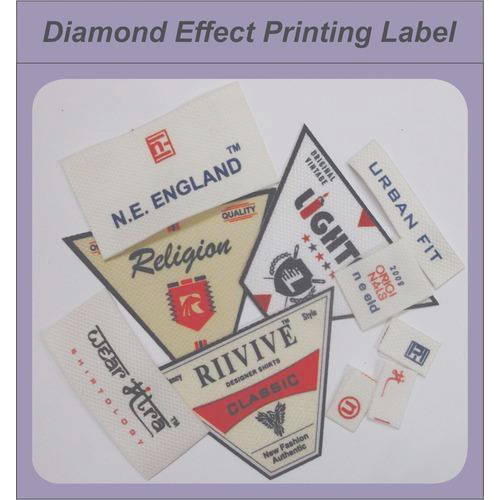 Diamond Printed Label