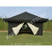 Artistic Safari Tent