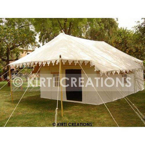 Extravagant Swiss Cottage Tent
