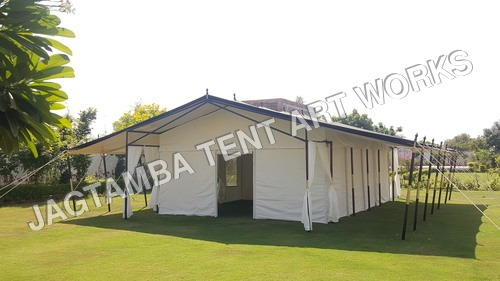 luxury tent of india
