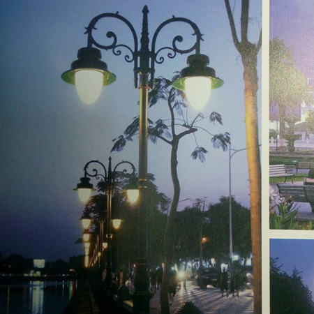 Decorative Street Lighting Pole