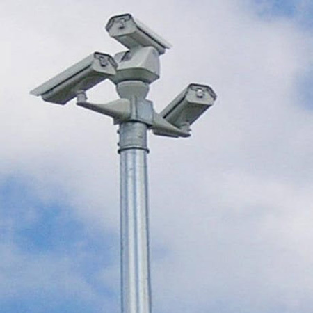 CCTV Camera Pole
