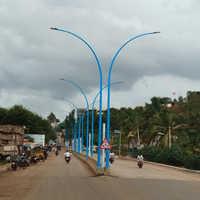 Octagonal Lighting Pole
