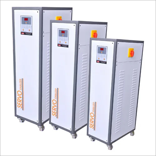 Three Phase Air Cooled Servo Voltage Stabilizer