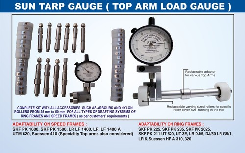 Top Arm Load Gauge Sun Tarp Gauge