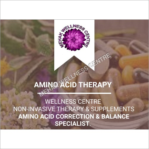Amino Acid Therapy Diagnosis & Treatment