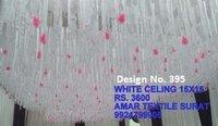 Decorating ceiling fabric