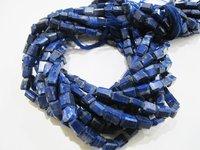 ON SALE Natural Lapis Lazuli Nugget Shape Laser Cut Beads