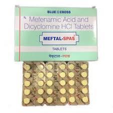 Dyclomine, Bentyl, Meftal-Spas