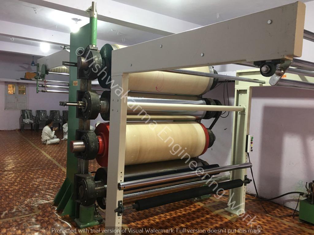 Fabric Calendar Machine