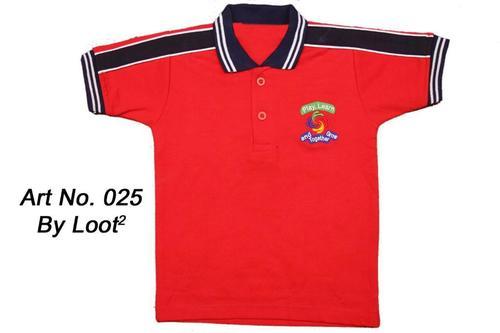 Designer Polo School T Shirt