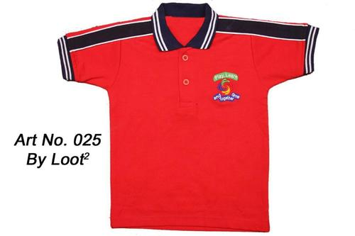 Designer Polo School T Shirt