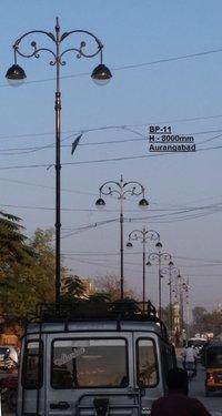 BP-11  Cast Iron Decorative Pole
