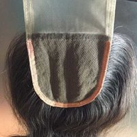 Silk Base Closure Human Hair