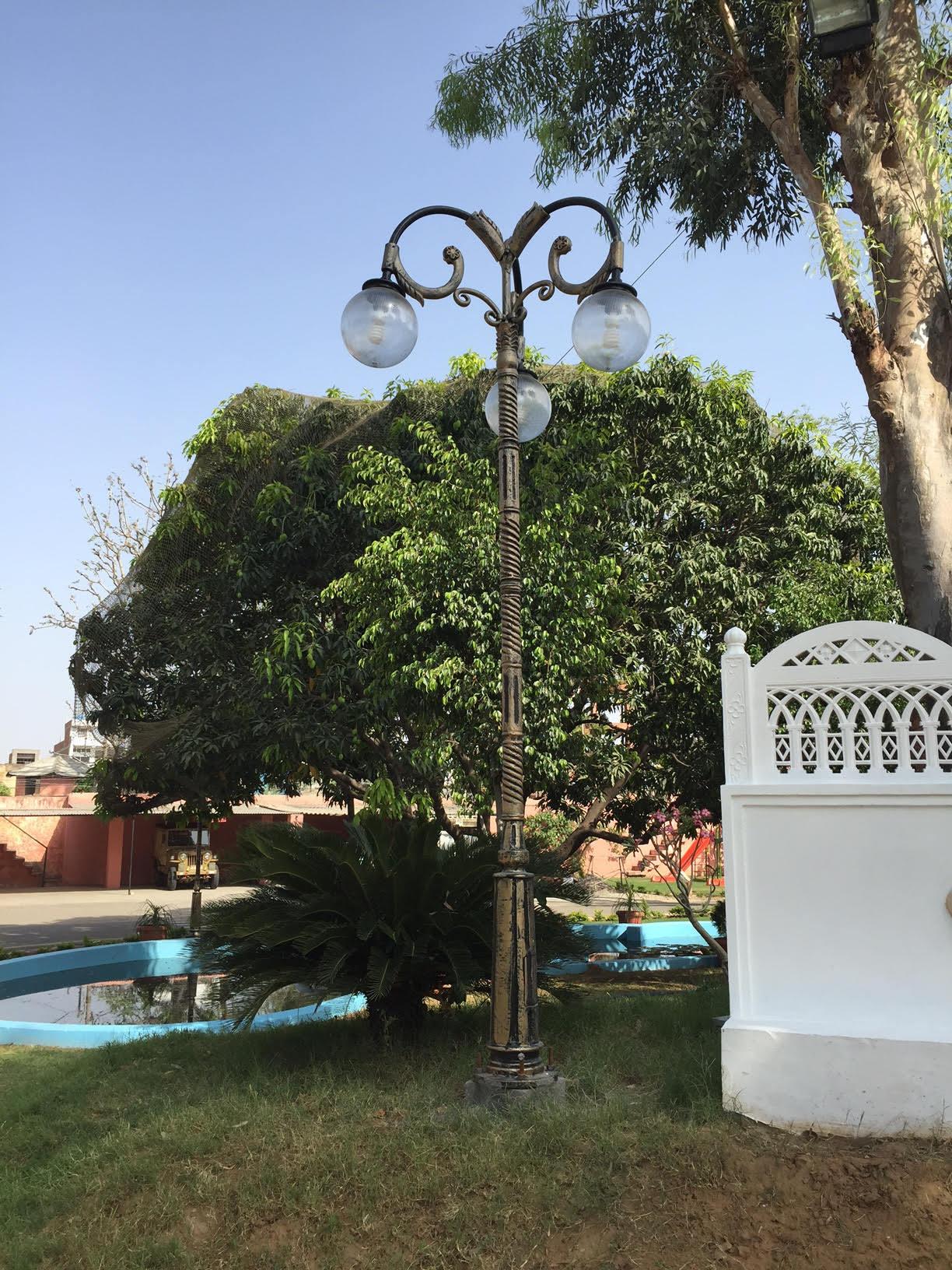 Garden Decorative Lighting Pole