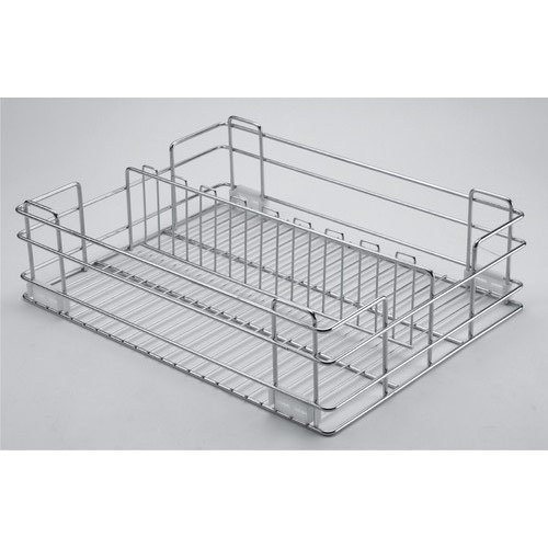 Partition SS Kitchen Basket