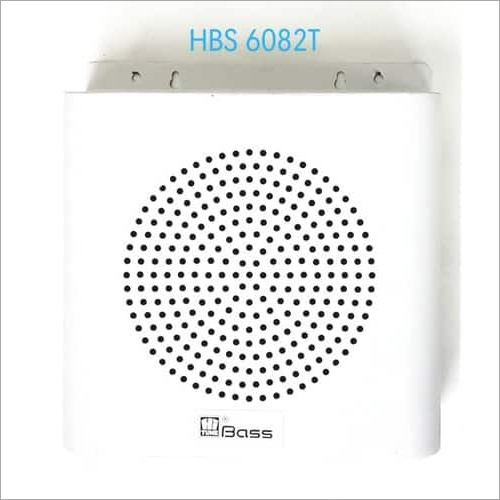 Hitune Bass PA Metal Wall Speaker HBS-6082T