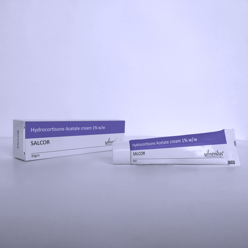 Hydrocortisone Acetate Cream 1 % - SALVAVIDAS PHARMACEUTICAL