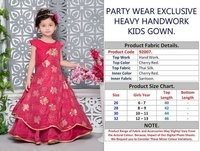 KIDS WEDDING WEAR GOWNS