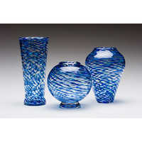 Fancy Glass Flower Vases