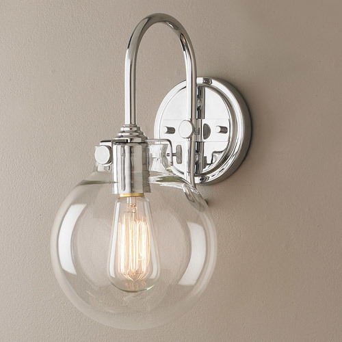 Fancy Glass Wall Light