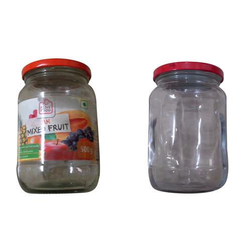 Glass Gem Fruit Jar
